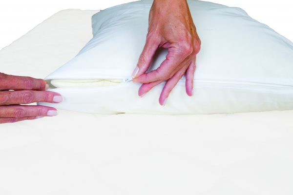 Sleep Defender pillow encasement